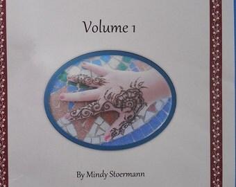 Henna Pattern Book-Mindy's Mehndi Designs Volume 1