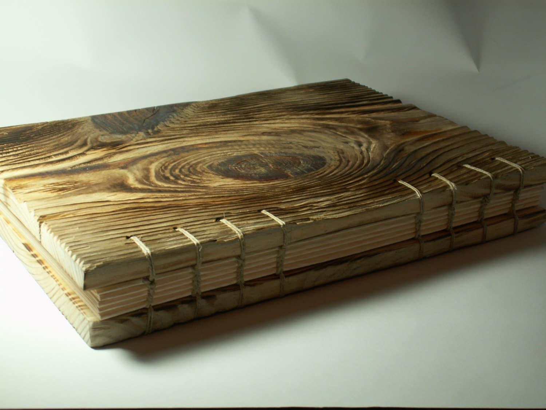Custom Wedding Guest Book Big Album Wood Rustic Guestbook