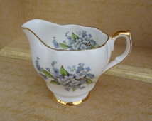 Queen Anne Bone China Creamer