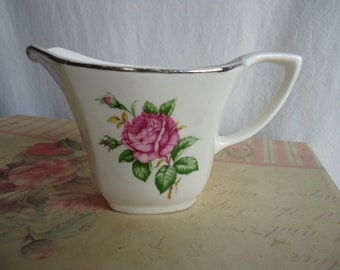 "Paden City Pottery ""Old Rose"" Creamer"