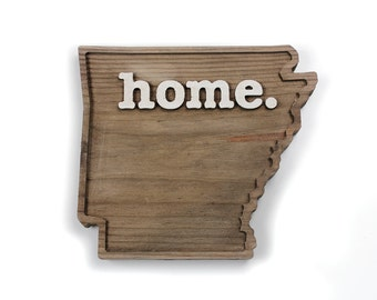 Arkansas home. Rough Cut Mill Wood Wall Hanging