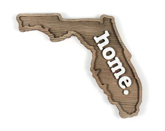 Florida home. Rough Cut Mill Wood Wall Hanging