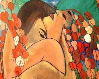 """Print of Original """"Embrace"""""""