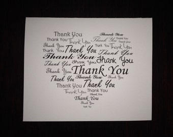 Thank You Heart - Set of 10