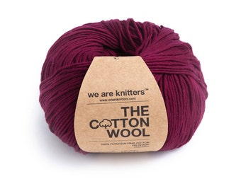 100% Pima Cotton - Wine