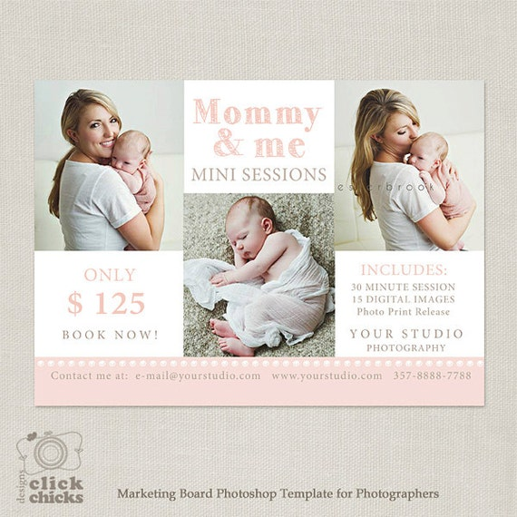 Mini Session Mommy & Me Photography Marketing Template 051