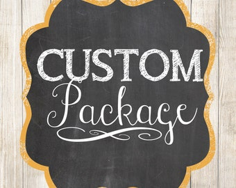 Custom Package - Invitation with Party Package