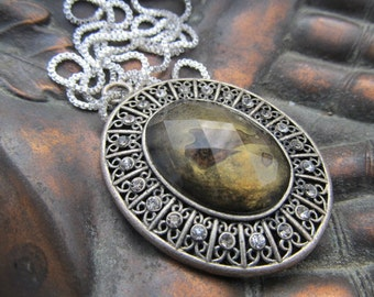 Large Costume Pendant with chain