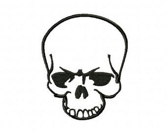 Embroidery pattern - Scull