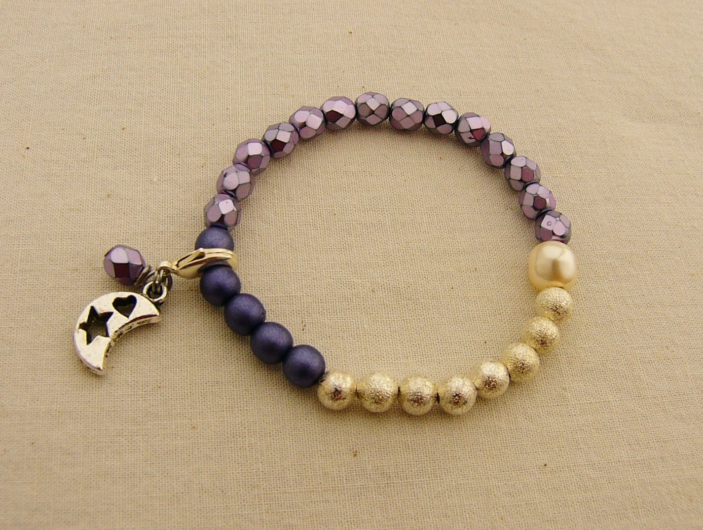 Period Tracking Bracelet Selene Beads BraceletTween Jewelry