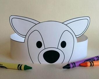 Deer Crown COLOR YOUR OWN - Printable