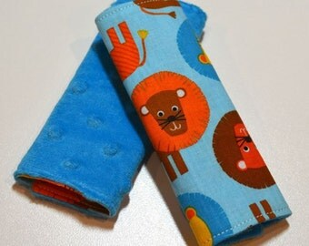 Car Seat Strap Covers - Lions