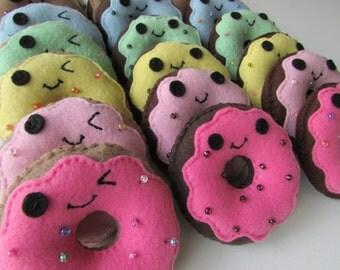 Doughnut Plush - Cute Kawaii Cake Doughnut Plush