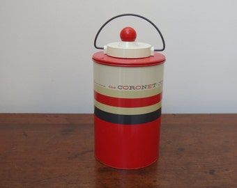 Vintage Flask, Coronet Jug 1/2 gl, Hamilton  Skotch  Corp.