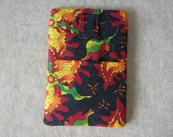 "Kindle Fire HD 7"" Case, Tablet Case, Cover, Sleeve, Exotic Bold Plants"
