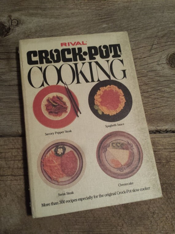 Amazon.com: Crock Pot: 200 crockpot recipes Cookbook ... |Vintage Recipe Book Crock Pot