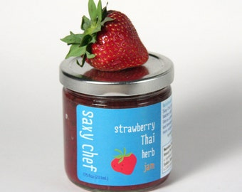 Strawberry Thai Herb Jam 7.75oz Jar