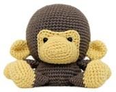 Fat Face Monkey Amigurumi Pattern