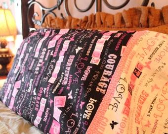 Survivor (Breast Cancer Awareness) Pillowcase Set