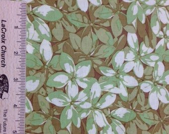 Martha Negley fabric Fruits and Florals Plumeria fabric MN10 SUMMER DELIGHT green Sewing Quilting fabric 100% cotton fabric by the yard