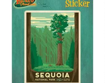 Sequoia National Park California Vinyl Sticker - #47947