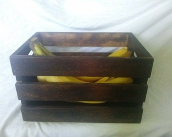 Rustic Fruit Crate - A must have for your country haven!
