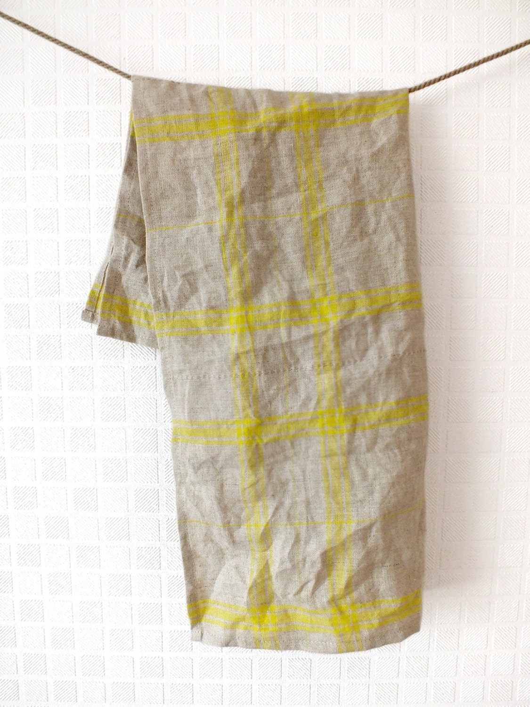 linen tea towel kitchen towel linen hand towel dish. Black Bedroom Furniture Sets. Home Design Ideas