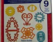 Spellbinders Shapeabilities Die - Ribbon Buckles