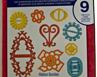Spellbinders Shapeabilities Die - Ribbon Buckles