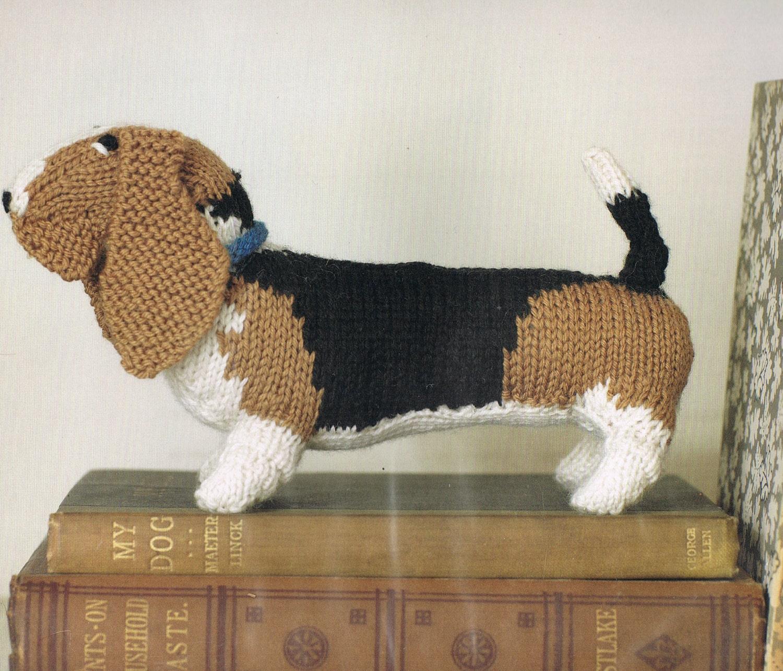 Amigurumi Knitting Pattern Basset Hound Dog by ...