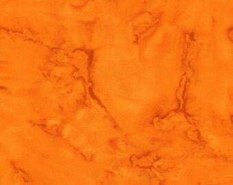 Anthology Fabrics Chromatic Solids Bali Batik 1153 Orange Yardage