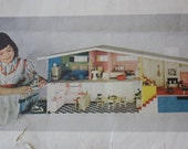 McCall's Do-It-Yourself Betsy McCall Dollhouse 1955