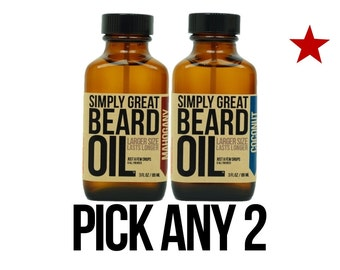 Beard Oil - ANY 2 - by Simply Great