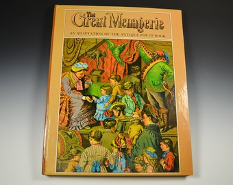 Pop Up Book ! The Great Menagerie 1979 An Adaptation of The Antique Pop Up Book