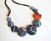 Autumnal necklace inspire...