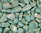 Amazonite Tumbled & Rough - Reiki, Healing, Gemstone, Crystal
