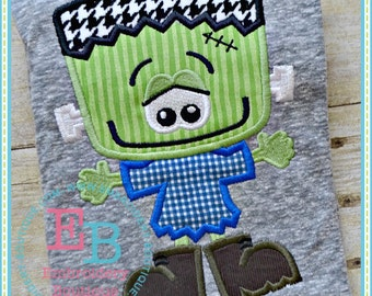 Frankie Guy Applique - This design is to be used on an embroidery machine. Instant Download 5x7, 6x10,9x9
