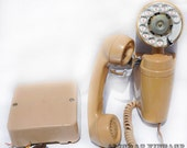 Vintage Spacemaker Telephone with RINGER BOX Automatic Electric Type 183  1950s Phone