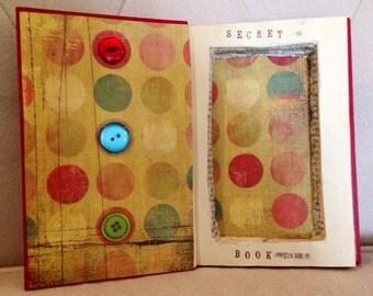 Custom Secret Stash Book, Jewelry Box, Secret Compartment Book, Book Safe, Made to Order