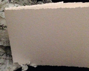 """Hand-Bound, Blank Watercolor Paper Journal 5"""" x 7"""""""