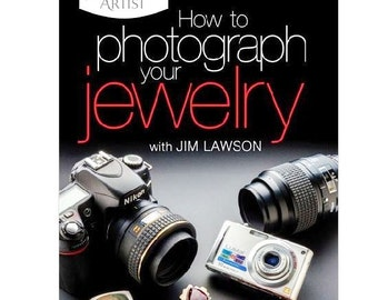 DVD How to Photograph your Jewelry by Jim Lawson WA 780-005