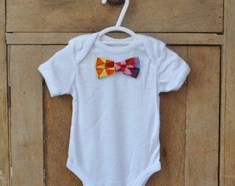 Baby Boy Bow Tie Onsie