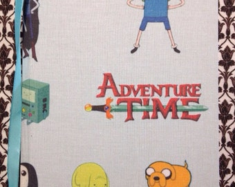 Adventure Time. 96 Paged A5 Hand Bound Note Book.