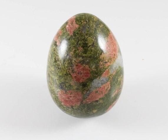 Unakite Egg, Polished, M-264