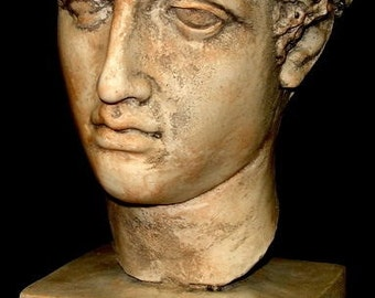 Antique Greek Athlete Statue Metropolitan Museum Sculpture Bust