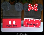 Mickey Mouse Minnie Mouse Goody Bags, Candy, Favor, Birthday Party Bags SET OF (10) LARGE