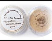 Green Tea Concealer 100 Percent Natural Mineral Makeup Concealer 20g Jar