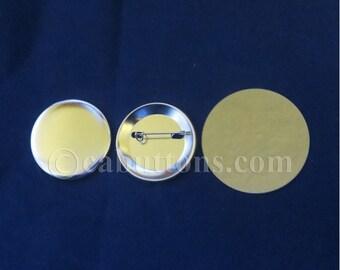 "1-3/4"" (1.75 inch) 100 pcs Complete Tecre Pin Back Button Parts for Button Maker Machines"