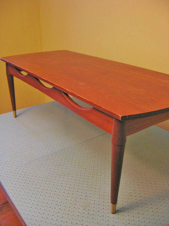 Danish Modern Coffee Table Mid Century Modern Coffee Table