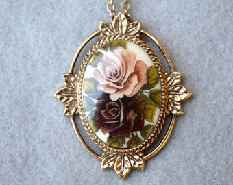 "Sarah Coventry ""Rose Marie"" Necklace Vintage"